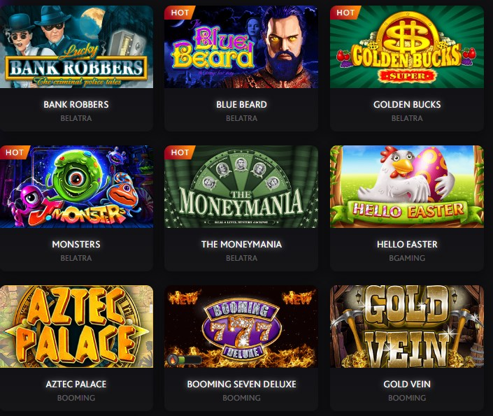 7Bitcasino games