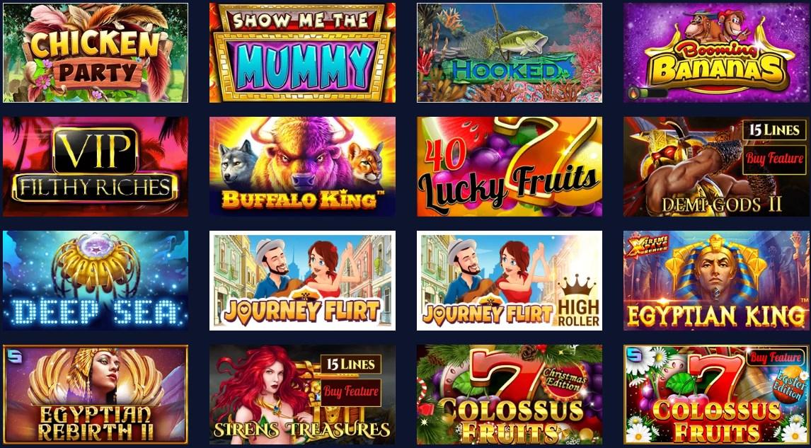 Betchain casino games