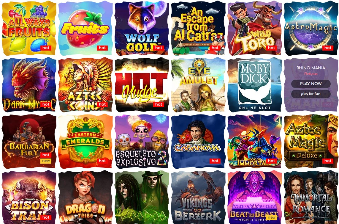 Loki casino games
