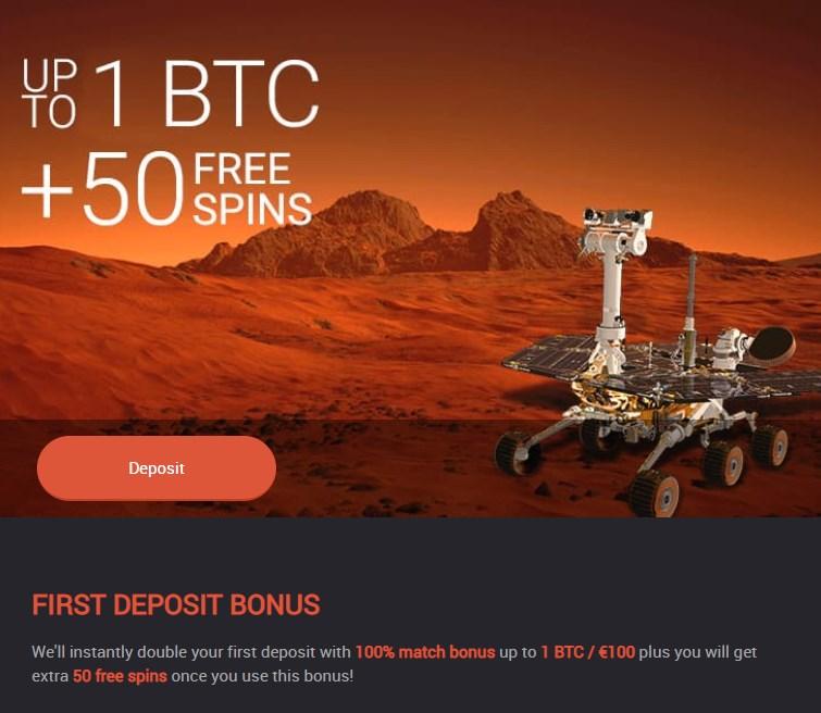 Mars casino bonus