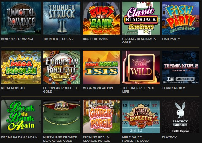 Microgaming casino slots