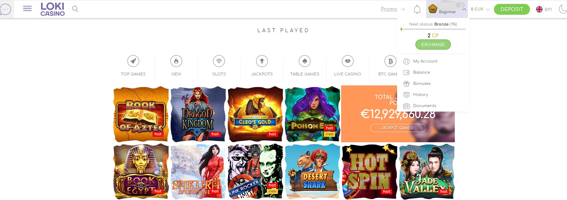 Softswiss casino loki casino account
